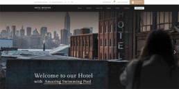 hotel booking 홈페이지 디자인